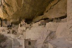 Klippen-Palast Nationalpark im MESA-Verde, Kolorado Stockbild