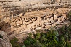 Klippen-Palast Nationalpark im MESA-Verde, Kolorado lizenzfreie stockfotos