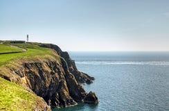 Klippen und Meer auf dem Verrührung von Galloway lizenzfreie stockfotografie