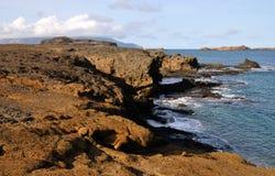 Klippen-und Ozean-Felsen Stockfoto