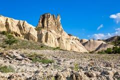 Klippen van Cappadocia royalty-vrije stock fotografie
