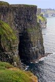 Klippen van Moher in Ierland royalty-vrije stock afbeelding
