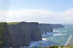 Klippen van Moher, Ierland Stock Foto's