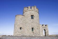 Klippen van Moher - O'Briens Toren, Ierland. Royalty-vrije Stock Afbeeldingen