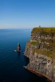 Klippen van Moher in Provincie Clare, Ierland Royalty-vrije Stock Foto's