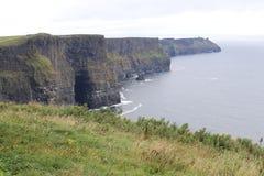 Klippen van Moher-Provincie Clare Ireland 3 Royalty-vrije Stock Foto's