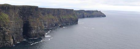 Klippen van Moher-Provincie Clare Ireland 1 Stock Fotografie