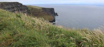 Klippen van Moher-Provincie Clare Ireland 4 Royalty-vrije Stock Foto