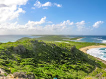 Klippen von Guadeloupe lizenzfreies stockfoto