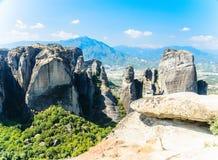 Klippen von Meteora, Griechenland Lizenzfreie Stockfotografie