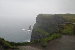 Klippen von moher in Clare Co , Irland Lizenzfreie Stockbilder