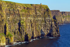 Klippen von Moher in Co. Clare Stockbilder