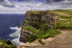 Klippen von Moher in Irland Stockfoto