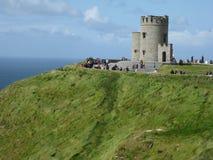 Klippen von Moher Irland Stockbild