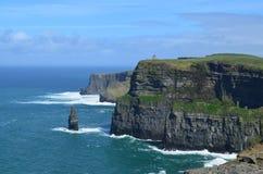 Klippen von Moher in Irland lizenzfreie stockbilder