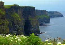 Klippen von moher, sunet Sicherung, westlich von Irland Lizenzfreie Stockbilder