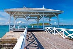 Klippenstrand-Seeseite Lizenzfreies Stockfoto