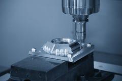 Klippet för CNC-malningmaskin delen för injektionform Arkivbilder