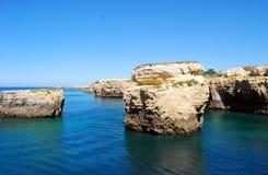 klippor Arkivbild