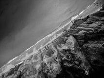 Klippor av Devon Arkivfoton