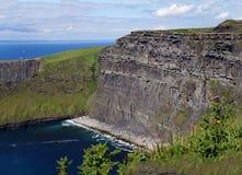 Klippor av Moher i Irland Royaltyfri Foto