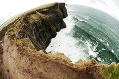 Klippor av Moher, Irland Arkivbilder
