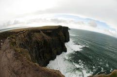 Klippor av Moher, Irland Royaltyfri Bild