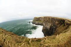 Klippor av Moher, Irland Royaltyfri Fotografi