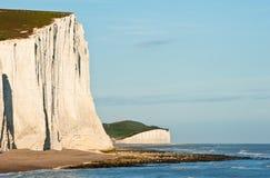 klippor besegrar systrar för england liggande sju söder Arkivbild