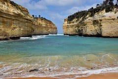 klippor i Australien Royaltyfri Fotografi