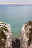 Klippor near port Dover Royaltyfria Foton