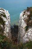 Klippor near port Dover Royaltyfri Bild