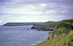 klippor nordliga ireland Royaltyfri Bild