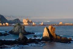 klippor norr spain Royaltyfri Fotografi