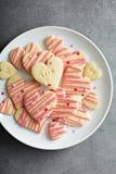 Klippta ut kakor för vanilj socker Royaltyfri Fotografi
