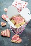 Klippta ut kakor för vanilj socker Royaltyfria Bilder