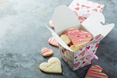 Klippta ut kakor för vanilj socker Fotografering för Bildbyråer