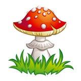 klipsk illustration för agaric Royaltyfri Bild