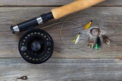 Klipsk rulle med blandade flugor Fotografering för Bildbyråer