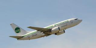 Klipska Germania Boeing 737-700 KvW Royaltyfria Foton