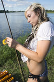 Klipskt fiske fotografering för bildbyråer
