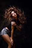 klipskt hår royaltyfri foto