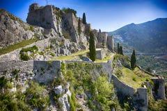 Klis-Festung stockbild