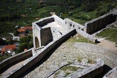 Klis fortess. Klis fortress near Split, Croatia stock photos