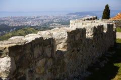 Klis fortess. Klis fortress near Split, Croatia royalty free stock photography