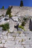 Klis fortess. Klis fortress near Split, Croatia stock images