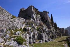 Klis fortess. Klis fortress near Split, Croatia royalty free stock image