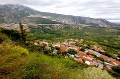 Klis fortress view. Croatia, near Split. Stock Images