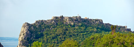 Klis - Medieval fortress in Croatia Royalty Free Stock Photo