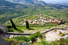 Klis - Medieval fortress in Croatia Stock Image